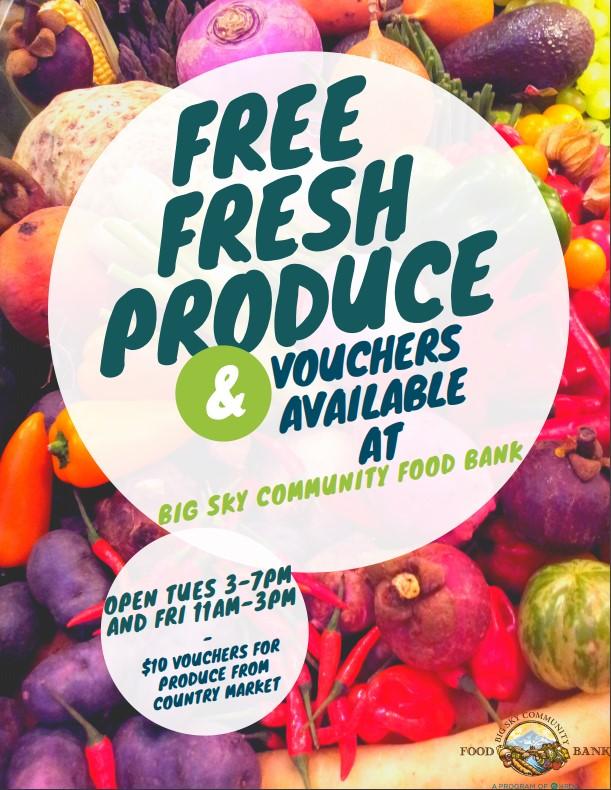 Vouchers for fresh produce